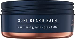 King C. Gillette Men's Soft Beard Balm, Deep Conditioning with Cocoa Butter, Argan Oil and Shea Butter, 100 ml
