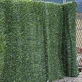 Woodside - Sichtschutzhecke aus künstlichen Koniferen - für Gartenzäune & Mauern - 1mx3m