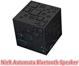POMUTRE NieR Automata Cosplay 2B 9S Portable Bluetooth Speaker Wireless Loudspeaker Sound System 10W Stereo Music Surround Waterproof Game Cos Music Player