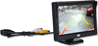 Digitaler TFT LCD Farb Rückfahr Monitor für Rückfahrkamera, unterstützt alle Autos mit 12 V / 24 V Leistung, High Definition 800 (RGB) x 480 Pixel