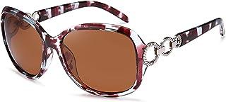 Oversized Sunglasses for Women, HD Mirrored Lens...
