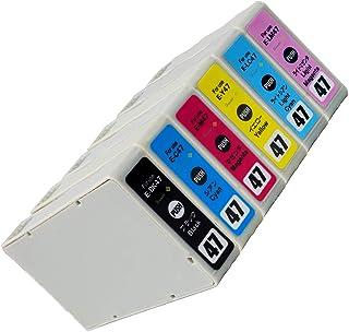 エプソン用最優良互換インクカートリッジ IC47-(BK/C/M/Y/LC/LM)×1 6色セット【ブドウ】 残量表示機能付 ICチップ対応 【Green shower製】【安心一年パック】