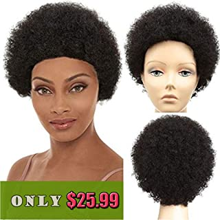 Afro Wig Human Hair Wigs 5