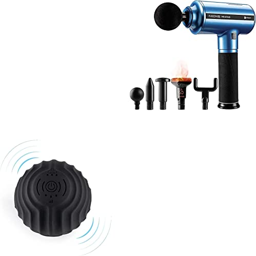 2021 Lifepro Fusion new arrival FX Heated Percussion Massage new arrival Gun, and Vibrating Massage Ball Roller Bundle outlet online sale