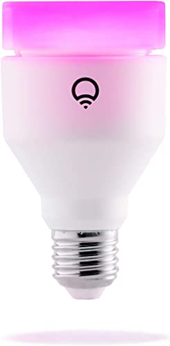 LIFX (E27) Wi-Fi Smart LED Light Bulb, Adjustable, Multicolour, Dimmable, No Hub Required, Works with Alexa, Apple Ho...