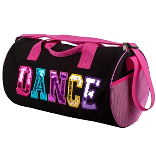 Dance Duffel Bag with Multicolored Dance Print 4e8f1b7afedc1