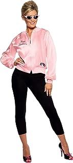 Smiffy's 28385, Chaqueta de Mujer para Grease, Rosa, S (8 -