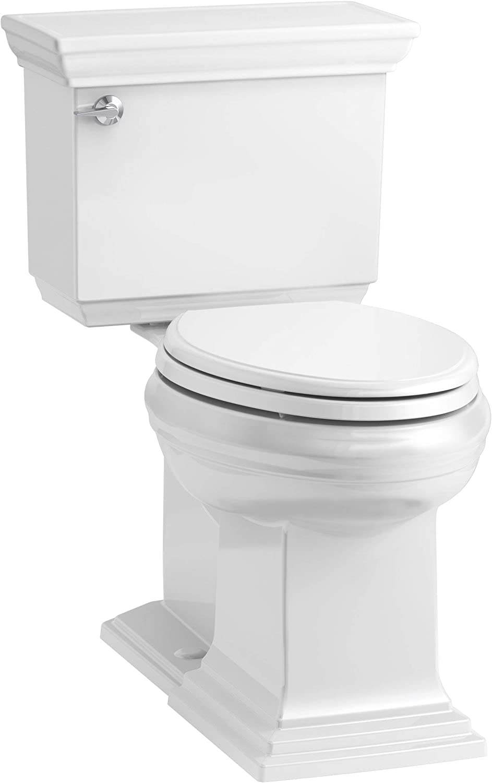 KOHLER K-6669-0 Memoirs Stately Comfort Height 2-Piece Elongated Toilet