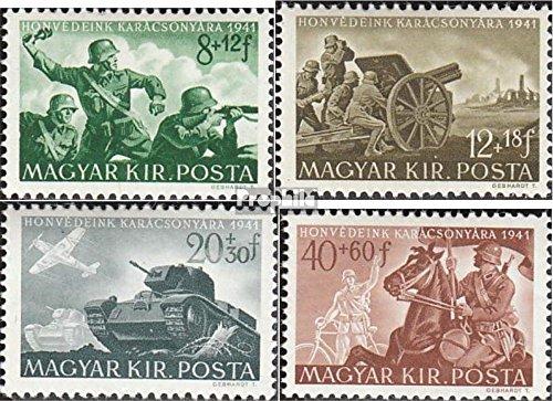 Prophila Collection Ungarn 682-685 (kompl.Ausg.) 1941 Ungarische Soldatenhilfe (Briefmarken für Sammler) Militär