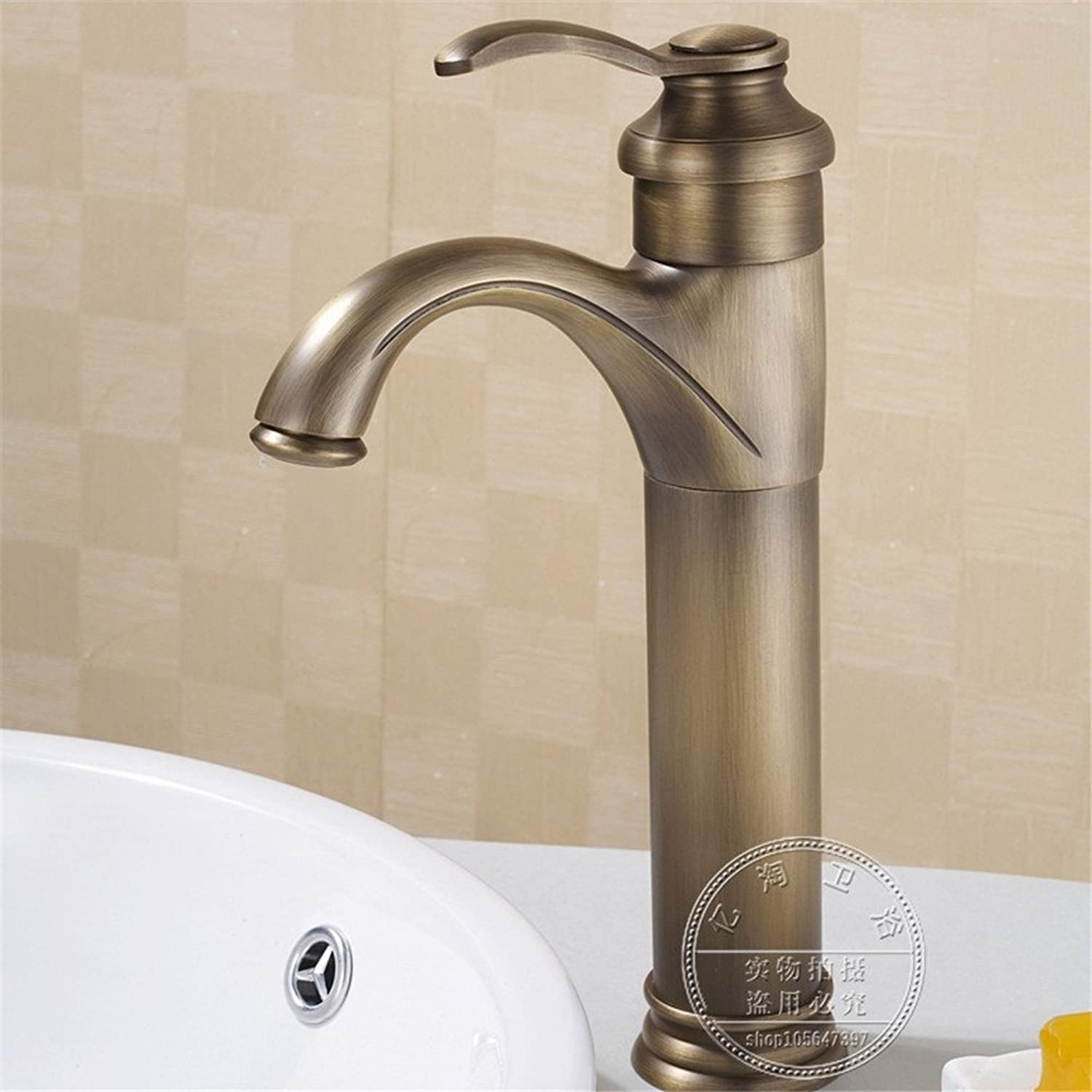 Hlluya Professional Sink Mixer Tap Kitchen Faucet The high-copper hot and cold water basin mixer