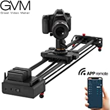 GVM Wireless Motorized Camera Slider Camera Dolly Electronic Video Slider Auto Loop Track System Shooting Equipped with Bluetooth Controller Tracking Shooting