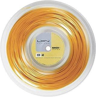 Luxilon Wilson 4G 125 Reel, Gold, 200m/16L-Gauge