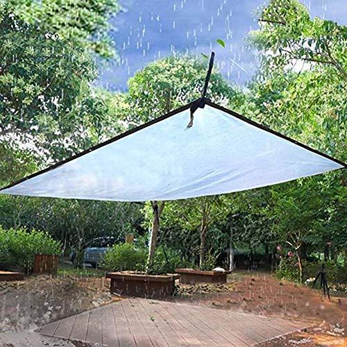 N / A Transparente Plane, wasserdichte Wetterfeste Abdeckplane mit Ösen Faltbar Strapazierfähige Vordächer für Gartenmöbel Pflanzen Gewächshaus, 2x3m (Size : 2x3m)