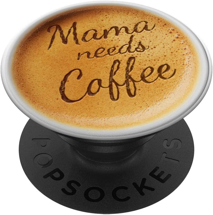 Cute Coffee Latte Art Gift for Black Energy PopSocke Cafe on Mom We OFFer OFFicial store at cheap prices