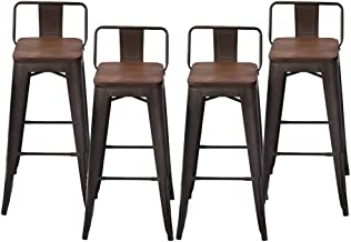 Best low back kitchen stools Reviews
