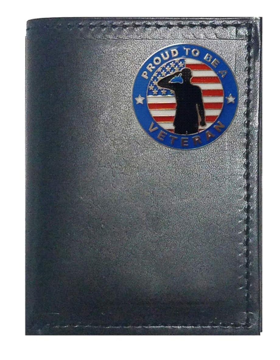 走るきらめきアンカーGenuine Texas Brand ACCESSORY メンズ US サイズ: Trifold カラー: ブラック