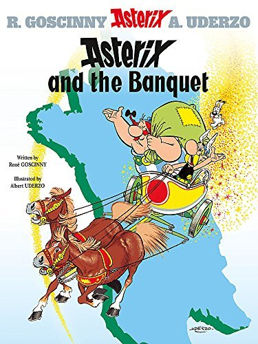 Asterix And The Banquet Bk 5 Asterix Orion Paperback By Ren Goscinny Albert Uderzo 2005 Paperback