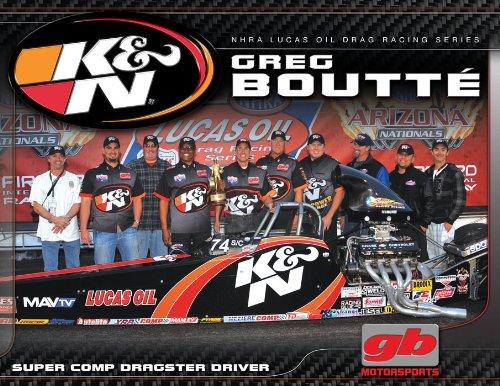 K N 89-11563-12 Hero, Greg Boutte