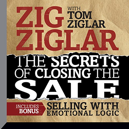 The Secrets of Closing the Sale audiobook cover art