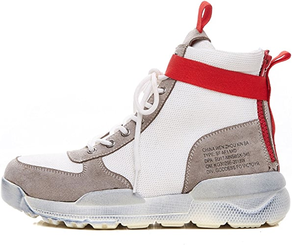 Chaussures Xiaolin Chaussures de Sport Hip-Hop Street Shooting Petites Chaussures Blanches Super Fire Chaussures pour Femmes