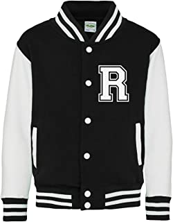 Personalized Initials Adults Varsity Jacket