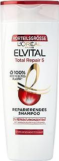 L'Oréal Paris, Shampoo ricostituente Elvive Total repair 5, 6 pz. da 400 ml