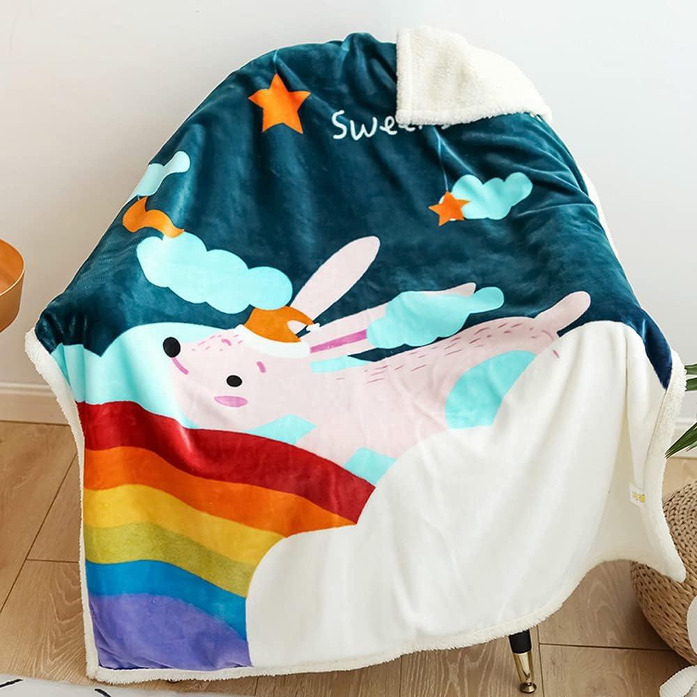 WINGSIGHT Ranking TOP7 Pug Throw Blankets Kids' Online limited product Fleece Blank Sherpa Warm Soft