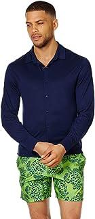VILEBREQUIN - Camicia uomo in Jersey di Lyocell a Tinta Unita