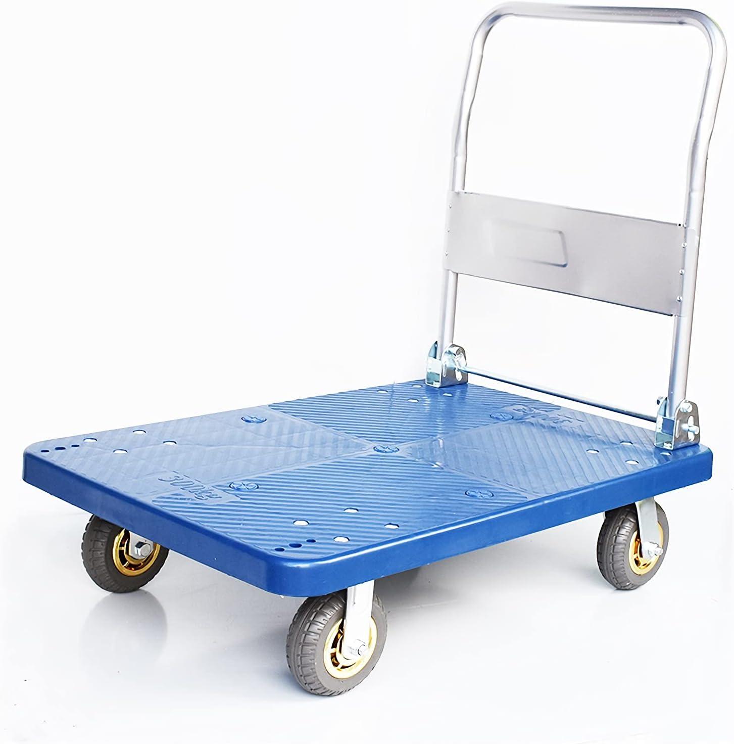 DALIZHAI777 Platform Cart 4 5 ☆ popular Ranking TOP4 Wheels with Truck Hand