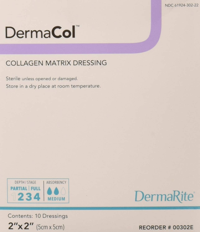 Max 64% OFF Dermarite Industries Dermacol Outstanding Collagen Dressing Count 2x2 10