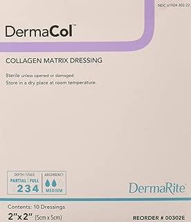 Dermarite Industries Dermacol Collagen Dressing, 2x2, 10 Count