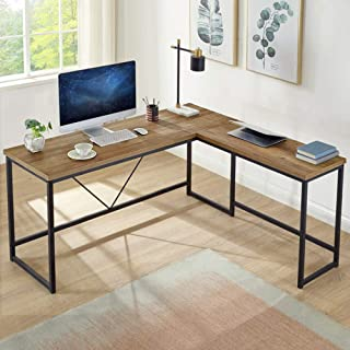 Best rustic wood corner desk Reviews