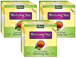 Premium Chinese Slimming WuLong Tea - All-Natural Weight Loss, Diet, Detox and Anti-Acne Oolong tea - Pure WuYi Oolong - 3...
