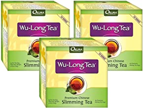 Premium Chinese Slimming WuLong Tea - All-Natural Weight Loss, Diet, Detox and Anti-Acne Oolong tea - Pure WuYi Oolong - 3 month supply with 180 tea bags
