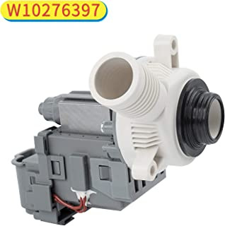 Decorlife W10276397 Washer Drain Pump Replacement Part Compatible with Whirlpool Kenmore Washers Replaces LP397 AP6018417 WPW10276397VP PS11751719 Washing Machine Pump