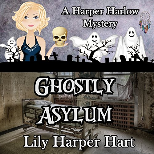 Ghostly Asylum audiobook cover art