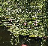 Der Zauber von Monets Garten - Kalender 2021 - Weingarten-Verlag - Fotokalender - Wandkalender mit wundervollen Gartenlandschaften - 47,8 cm x 45,8 cm