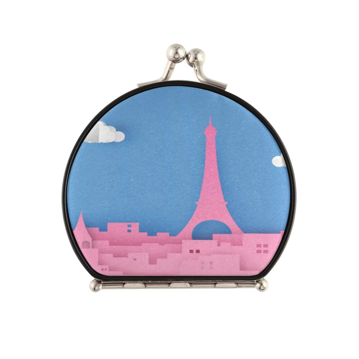 Magnifying Max 88% OFF Compact Cosmetic Max 76% OFF Mirror Paris Fran Scene Capital City