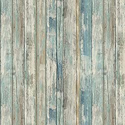 """top 10 peel and stick wallpapers Peel off and glue the torn wooden wallpaper 17.71 """"Wide, 236.2″ adhesive removable wall …"""