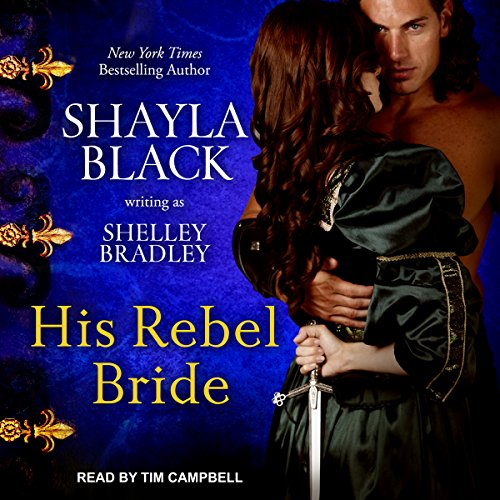 His Rebel Bride audiobook cover art