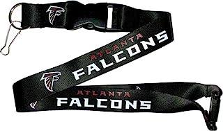 NFL Atlanta Falcons Team Lanyard, Black