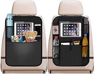 TALITARE Car Organisers, Car Back Seat Organiser, Car Tablet Holder, Waterproof Backseat Cover, Seat Back Protectors, Fami...