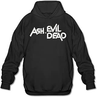 SAMMOI Ash Vs Evil Dead Men's Soft Hooded Sweatshirt Black
