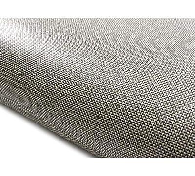 ROSEROSA Peel & Stick Backsplash Textile Fabric Textured Vinyl Contact Paper Self-Adhesive Wallpaper Shelf Liner Table and Door Reform