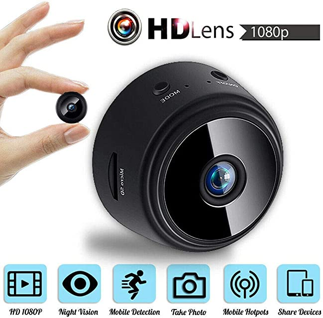 A9 WiFi 1080P Full HD visión nocturna cámara inalámbrica IP Hidden Camer | Mini cámara