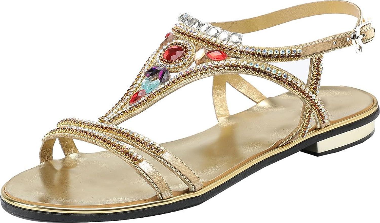Womens Mary Jane Flat Sandals Comfort Antiskid Pregnant shoes Wedding Job ZXL008