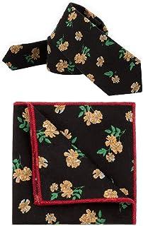 DIEBELLAU Tie Men's Suit Cotton tie Square Towel Pocket Towel Boutique tie (Color : 2)
