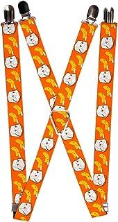 Buckle-Down Men's Suspender - Fortune Cookies, One Size