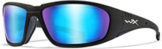 Image of Wiley X Captivate Polarized Blue Mirror/Matte Black