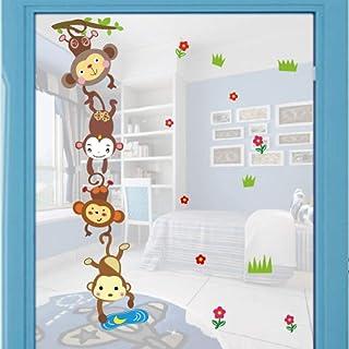 """WoW-store ADESIVO MURALE RIMOVIBILE BAMBINO 14.5cm x 20cm /""""Kid Toilet/"""" Decorazione casa"""